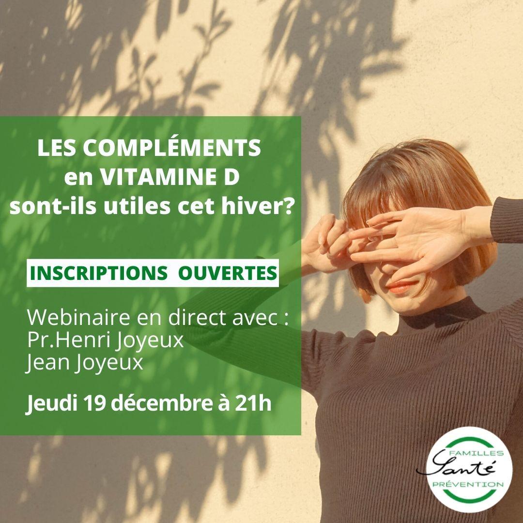 Les compléments en vitamine D sont-ils utiles cet hiver