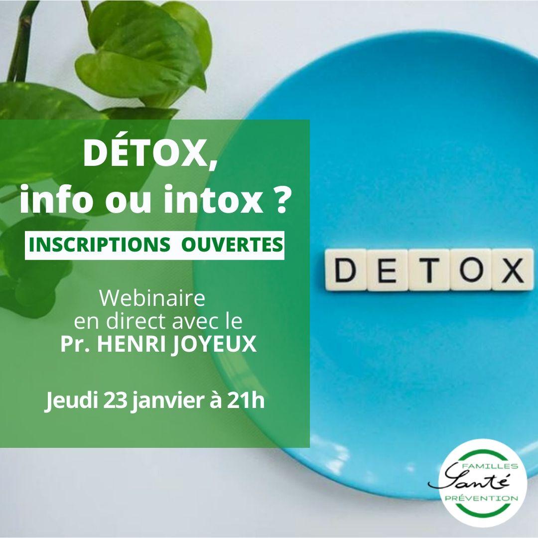 Detox, info ou intox
