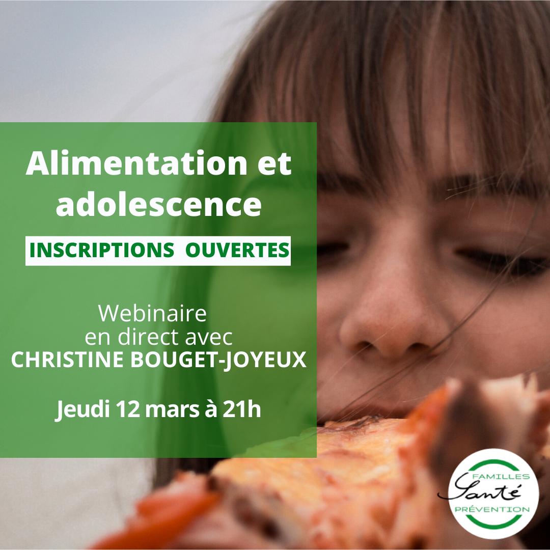 Alimentation et adolescence