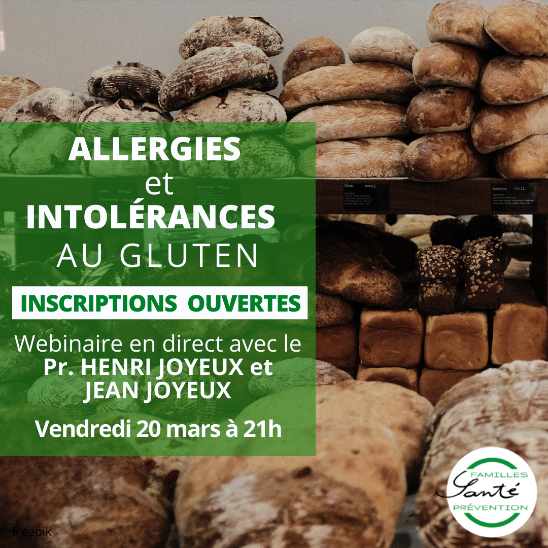 Allergies et intolérances au gluten
