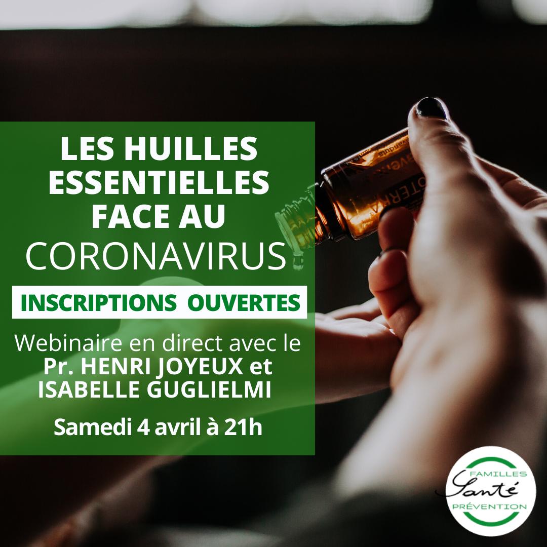 Les huiles essentielles face au Coronavirus