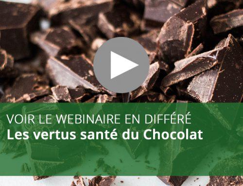 Webinaire : Les vertus santé du Chocolat