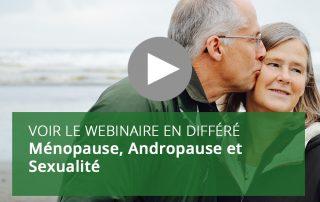 Ménopause, Andropause et Sexualité