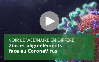 Zinc et oligo-éléments face au CoronaVirus