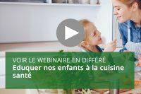 Eduquer nos enfants à la cuisine santé