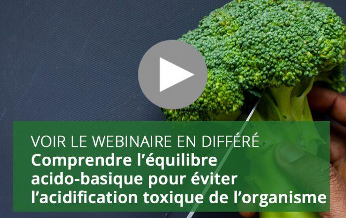 Comprendre l'équilibre acido-basique pour éviter l'acidification toxique de l'organisme
