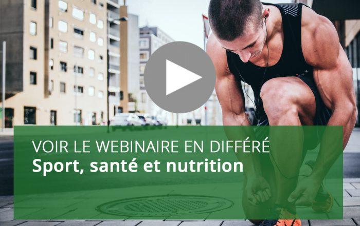 Sport, santé et nutrition