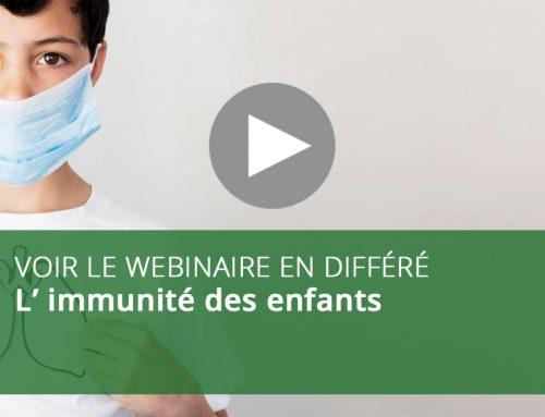 Webinaire : L' immunité des enfants