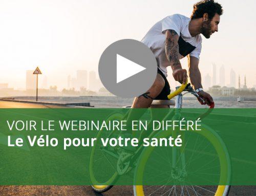 Webinaire : Le Vélo pour votre santé