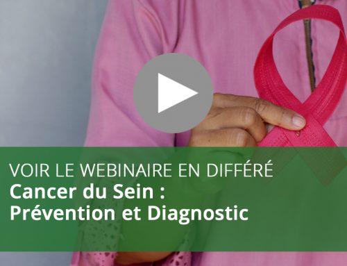Webinaire : Cancer du Sein : Prévention et Diagnostic