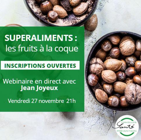 Superaliments: les fruits à coque