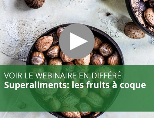 Webinaire : Superaliments – les fruits à coque