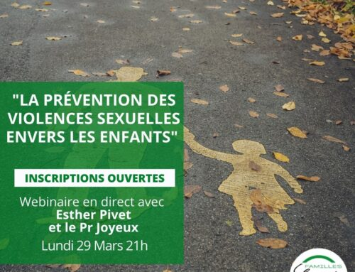 Webinaire : La prévention des violences sexuelles envers les enfants