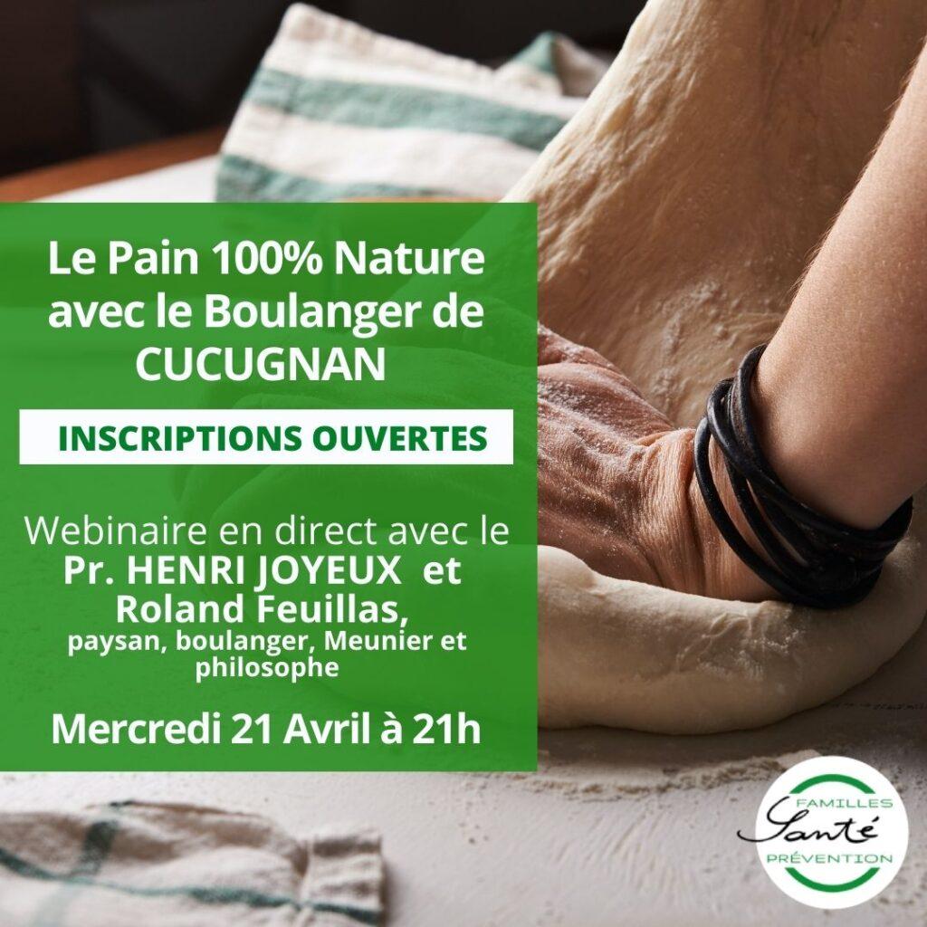Le Pain 100% Nature avec le Boulanger de CUCUGNAN
